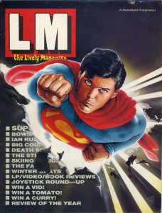 LM Issue 0, January 1987, inner cover