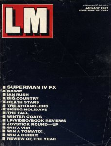 LM Issue 0, January 1987, outer cover