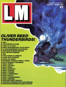 LM Issue 2, March 1987, outer cover