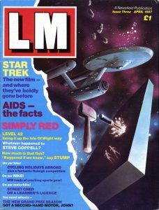 LM Issue 3, April 1987, outer cover