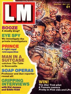 LM Issue 4, May 1987, outer cover